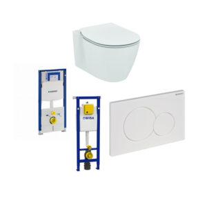 Toilet / Inbouwframes.